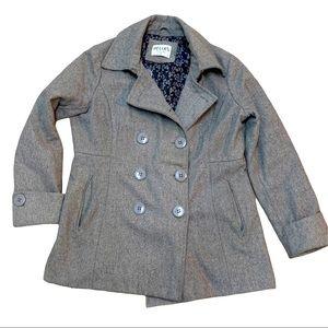 Delia's I Wool Blend Pea Coat